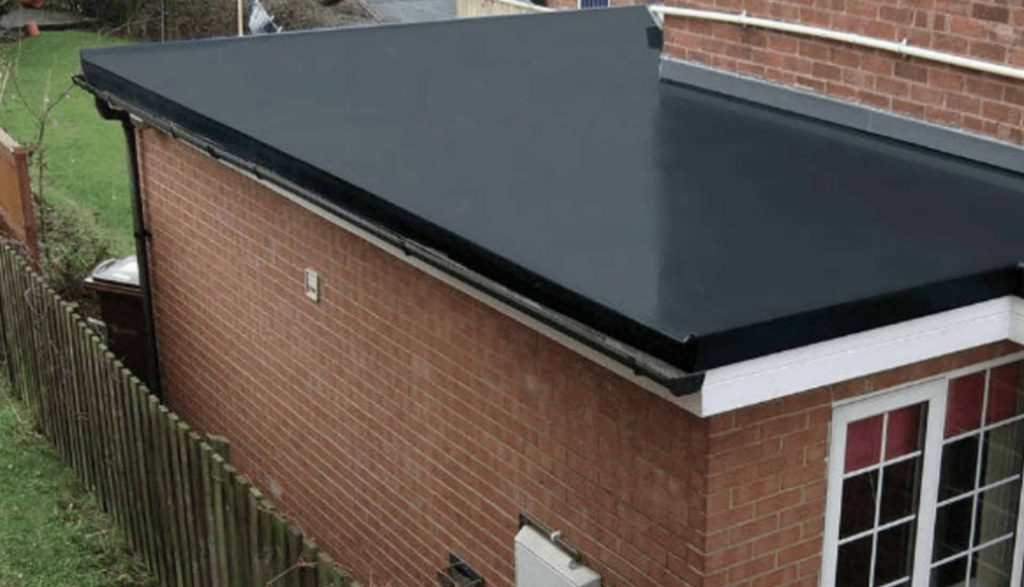 Flat roof Coventry, EPDM rubber roof