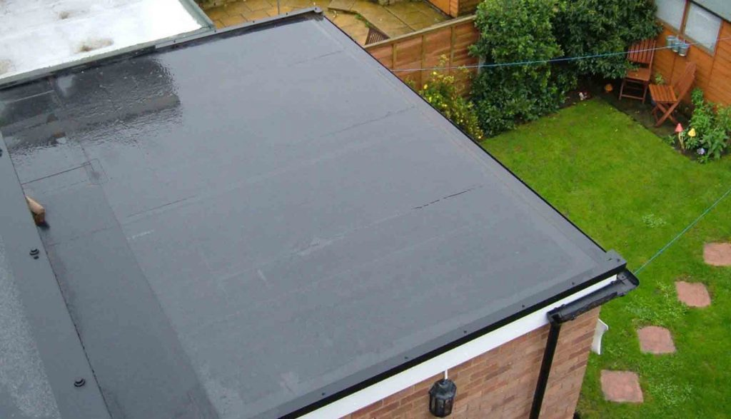 Flat rubber roof coventry