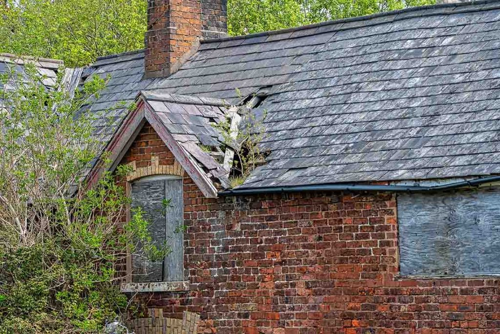 damaged roof in coventry