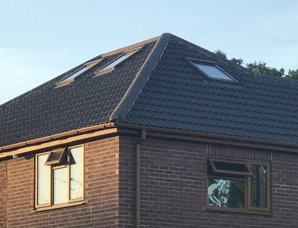 tiled roof in coventry