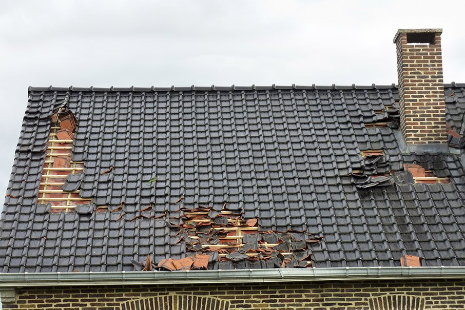 roof damage in coventry