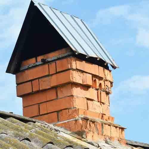 Chimney repair needed in Coventry